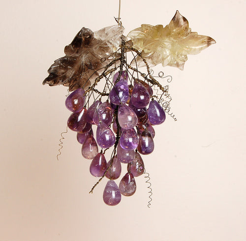 Amethyst Grape Bunch Pendant