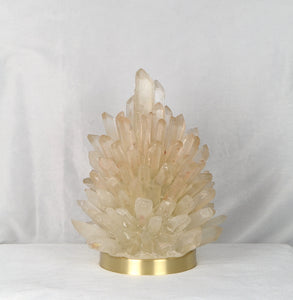 Rock Crystal Cluster Lamp Liberty