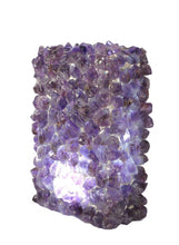 Amethyst Rock Crystal Lamp