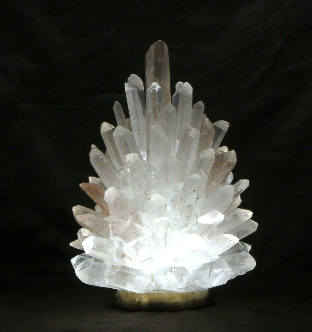 Rock Crystal Cluster Lamp Liberty 10