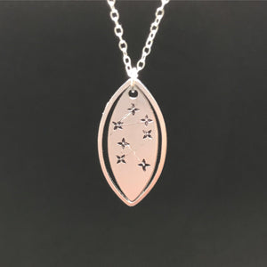 The Invisible Life of Addie LaRue Hand Stamped Stars Necklace