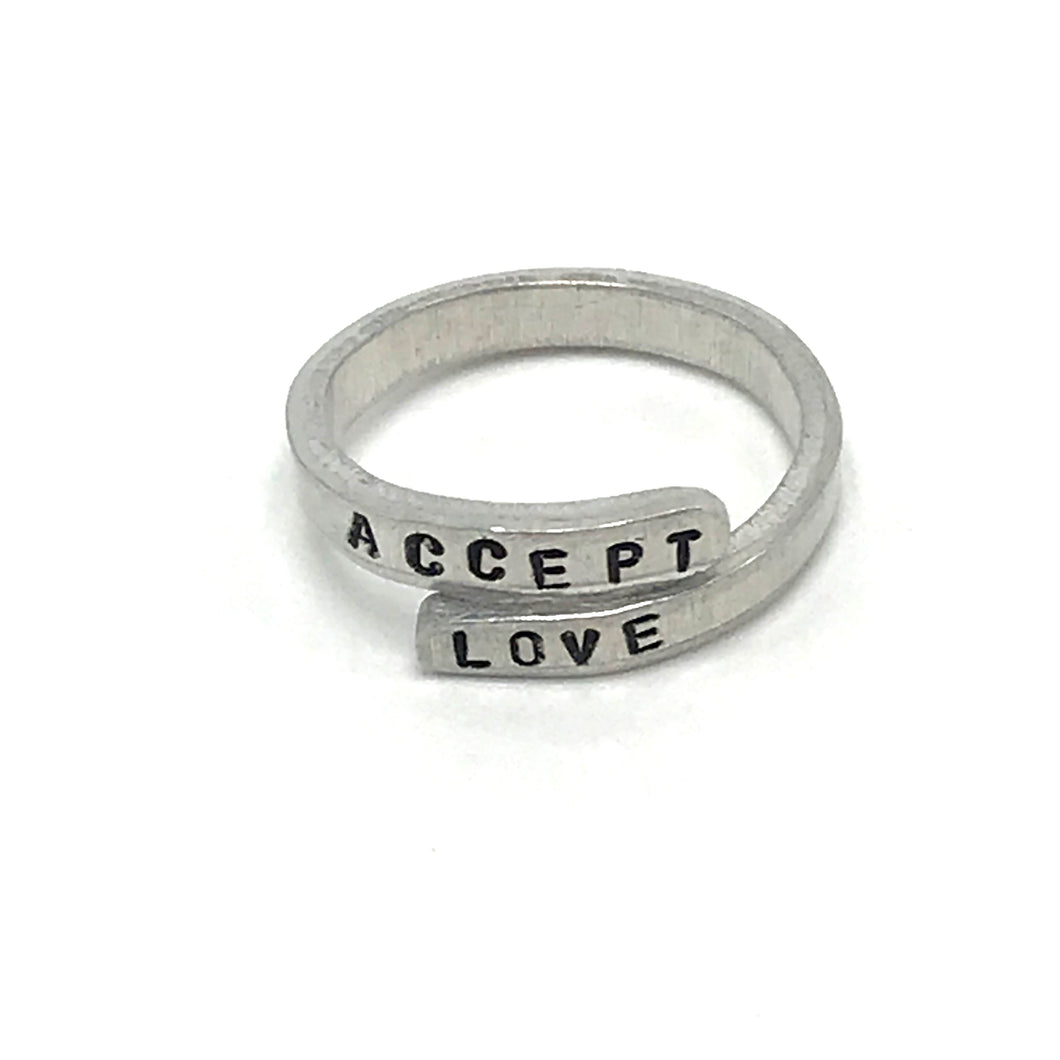 Accept Love Wrap Ring