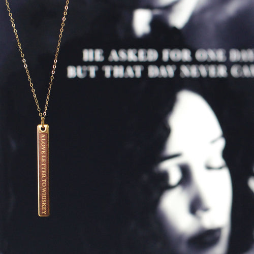 Dark Line Kandi Steiner Novel Necklace