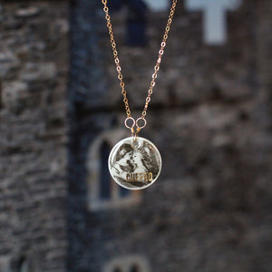 CUFFED Mother of Pearl Shakespeare Necklace
