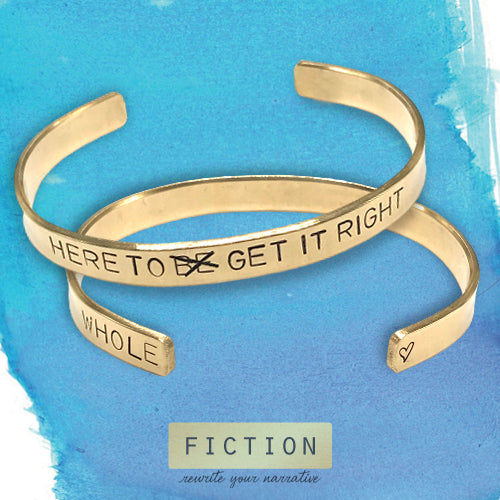 Brené Brown Here to GET IT Right Cuff Bracelet
