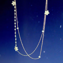 Moonstone Stars Layering Necklace Inspired by Jessica Hawkins