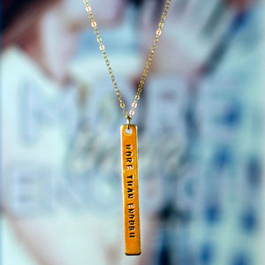 Jay McLean Hand Stamped Novel Necklace