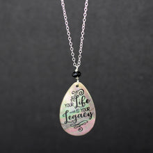 Jay McLean Legacy Quote Necklace