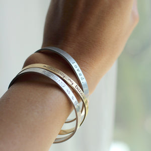 Personalized Cuff for Mom + 20% Off All Jewelry