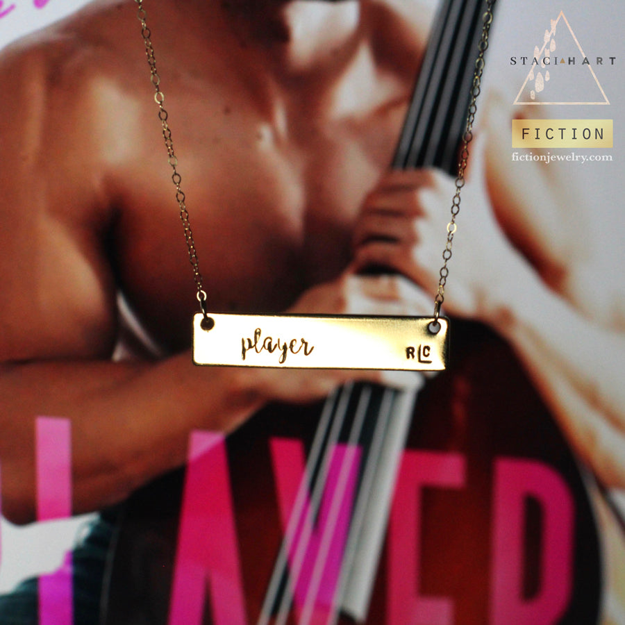 Player RLC by Staci Hart Hand Stamped Necklace