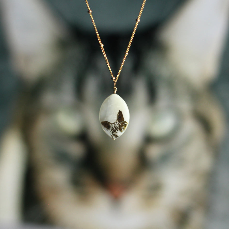 Kandi Steiner's Cat Necklace