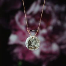 Wheeling Mother of Pearl Jane Austen Necklace