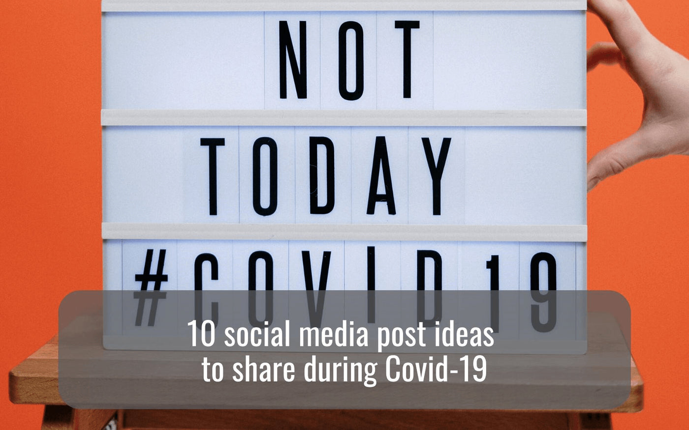 10 Social Media Post Ideas To Share During Covid 19 Hellomedia