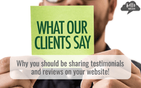 hello media blog post Why it's absolutely vital you share testimonials and reviews on your website