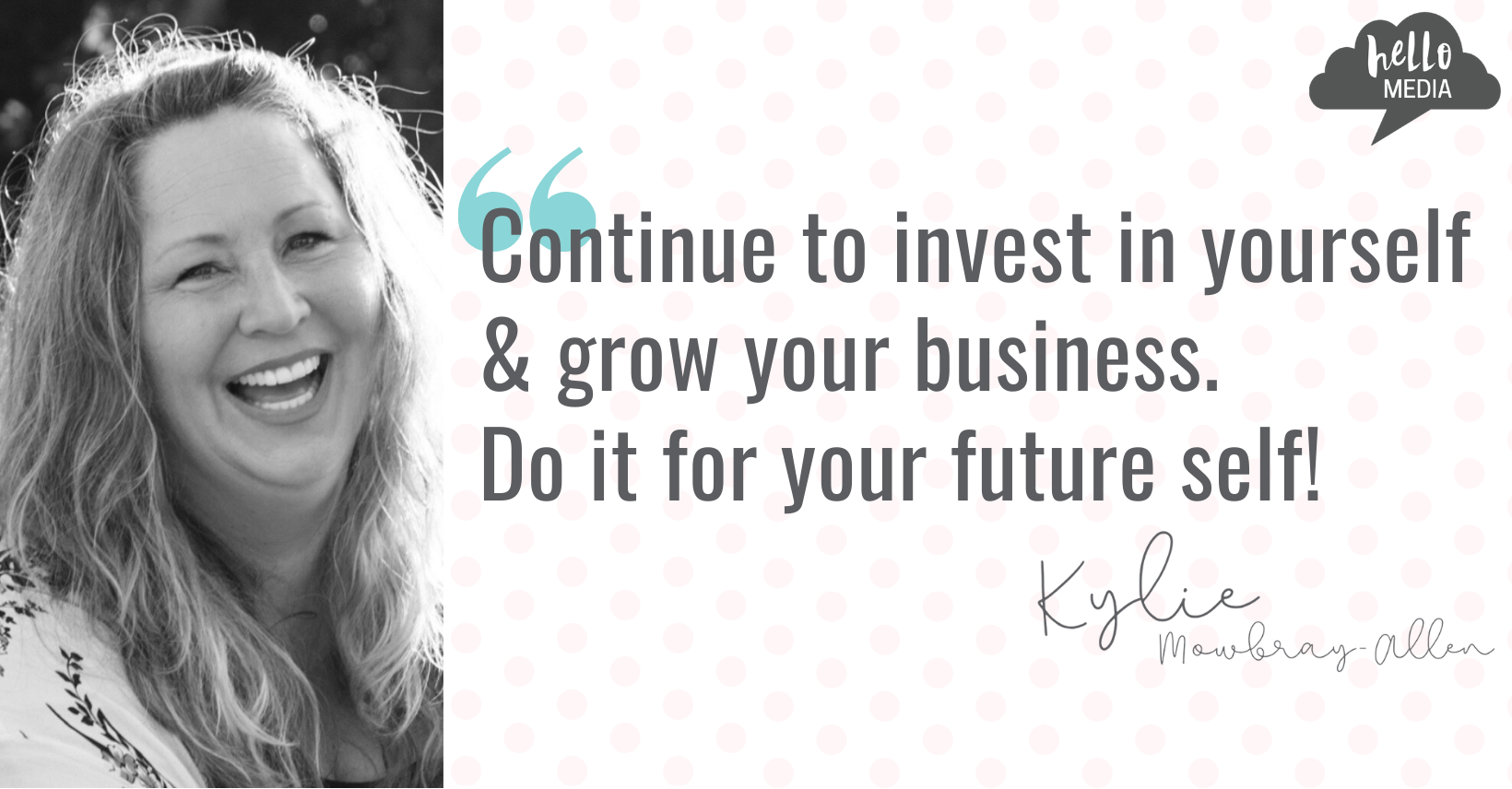 Kylie Mowbray-Allen business coach digital marketing social media strategist