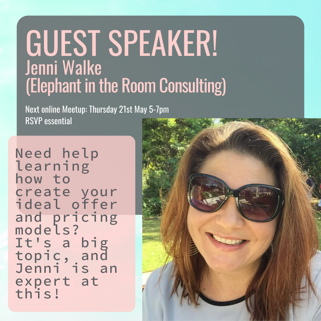 positive passionate women in business speaker jenni walke elephant in the room consulting