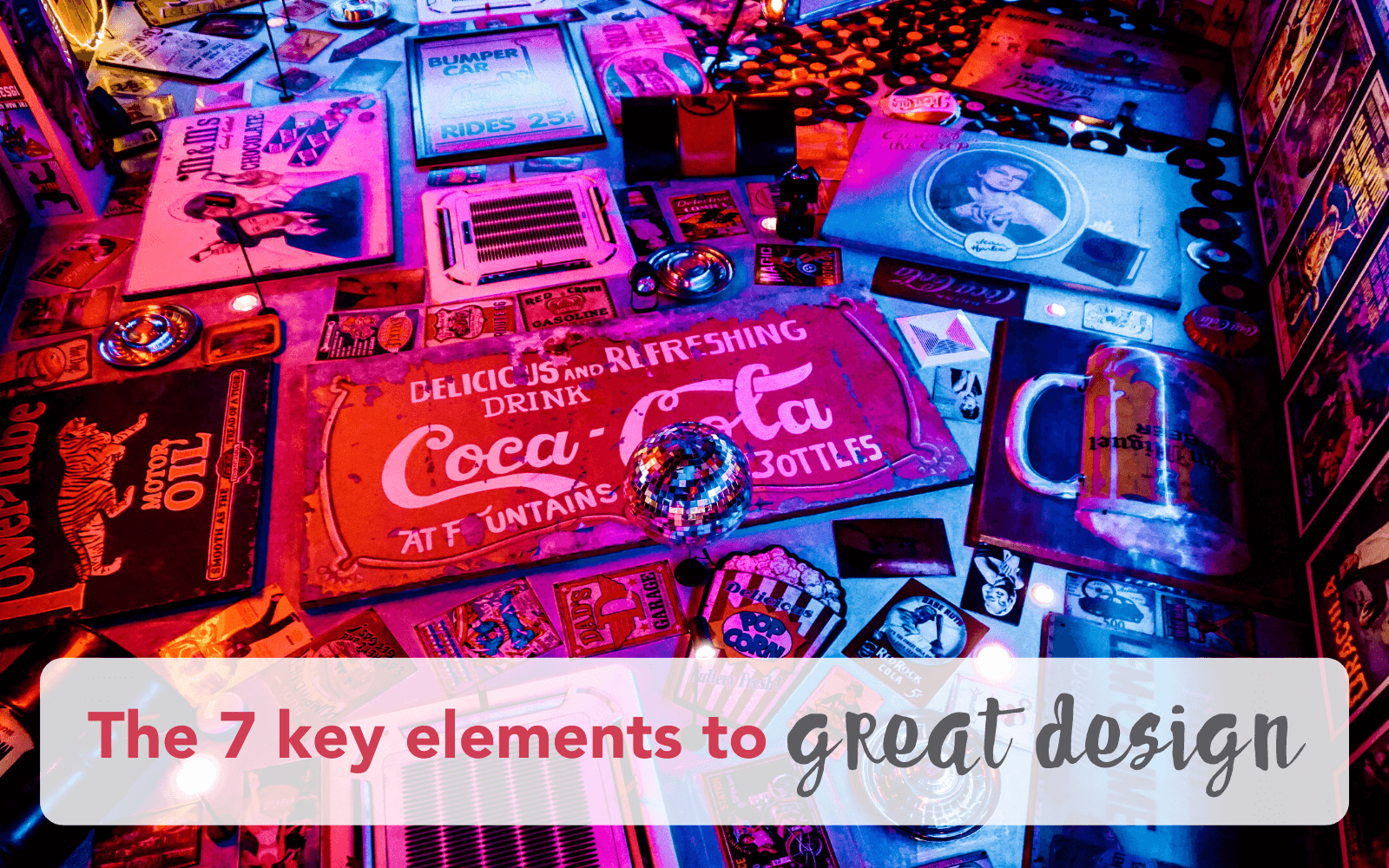 the 7 key elements of great graphic design