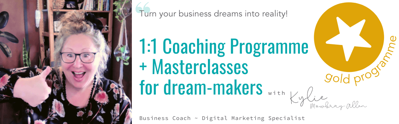gold-level business coaching digital marketing small-business growth and support