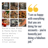 earth-n-sea-byron-bay-pizza-pasta-review-testimonial-social-media-management-hello-media