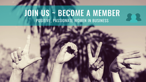 MEMBERSHIP ~ Positive & Passionate Women in Business (12-months)