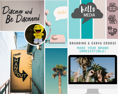 Irresistible Branding & Canva skills ~ online course