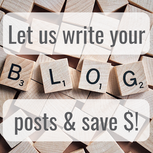 Buy 3 blog posts and save!