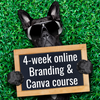 4-week online branding and canva course uplevel your business