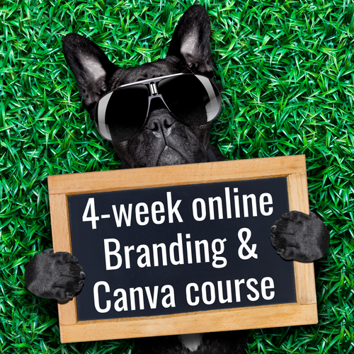 Branding & Canva ~ 4-week online course