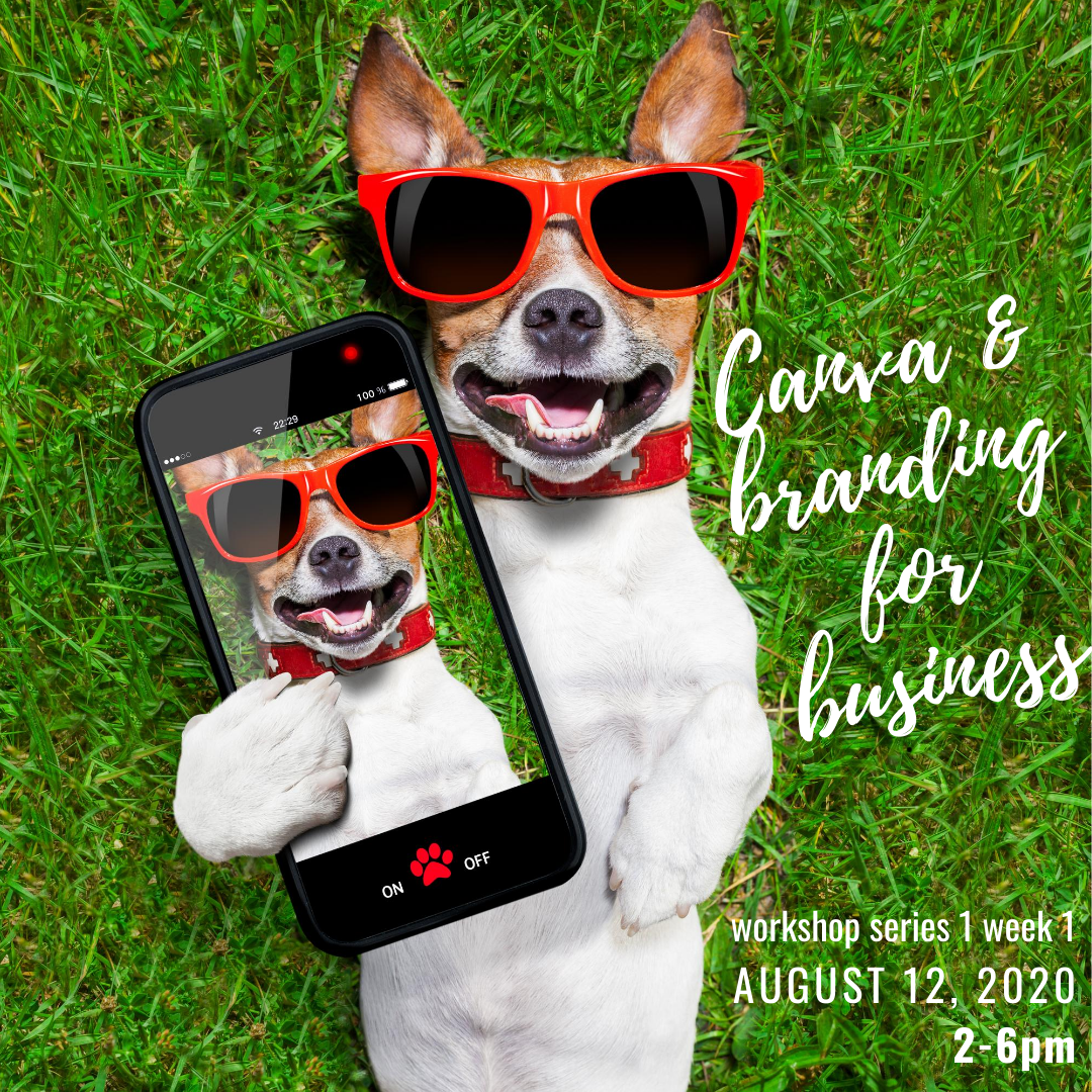Workshop Series 1 ~ CANVA & BRANDING ~ week 1