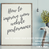 Workshop series 2 ~ How to improve your website performance ~ week 5