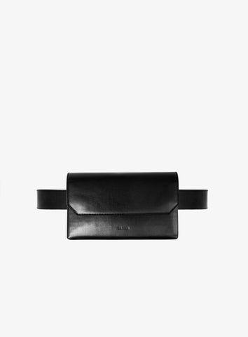 Leather belt-bag designed in Australia by sixty six studio.