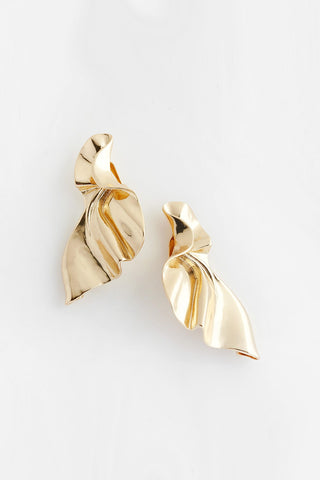 wrapping earrings gold reliquia jewellery