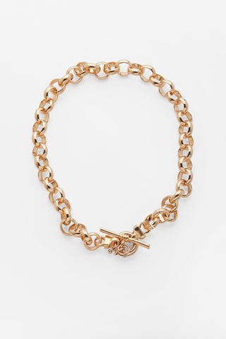 maxima chunky gold necklace reliquia jewellery