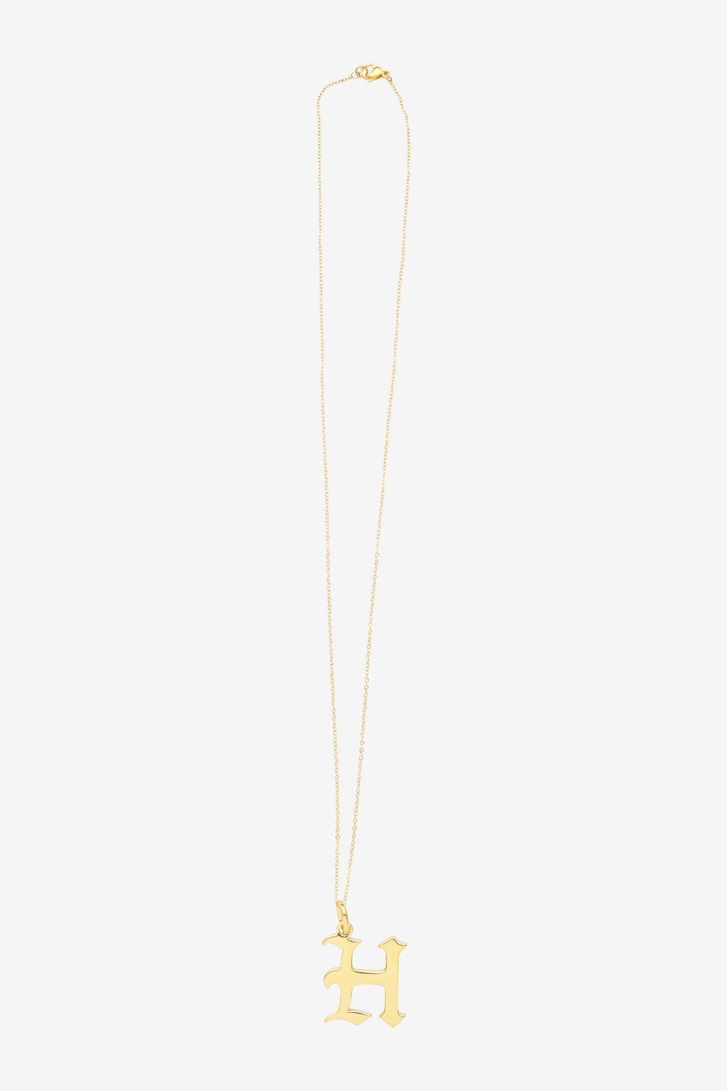 Gold Letter H Necklace
