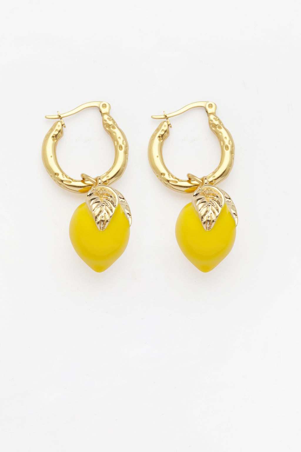 Lemon Charm Earrings