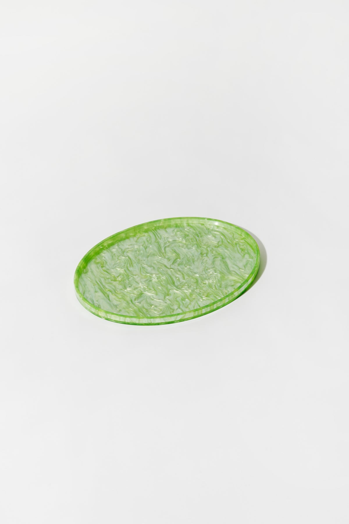 Oval Tray Green