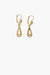 AZALEA EARRINGS GOLD