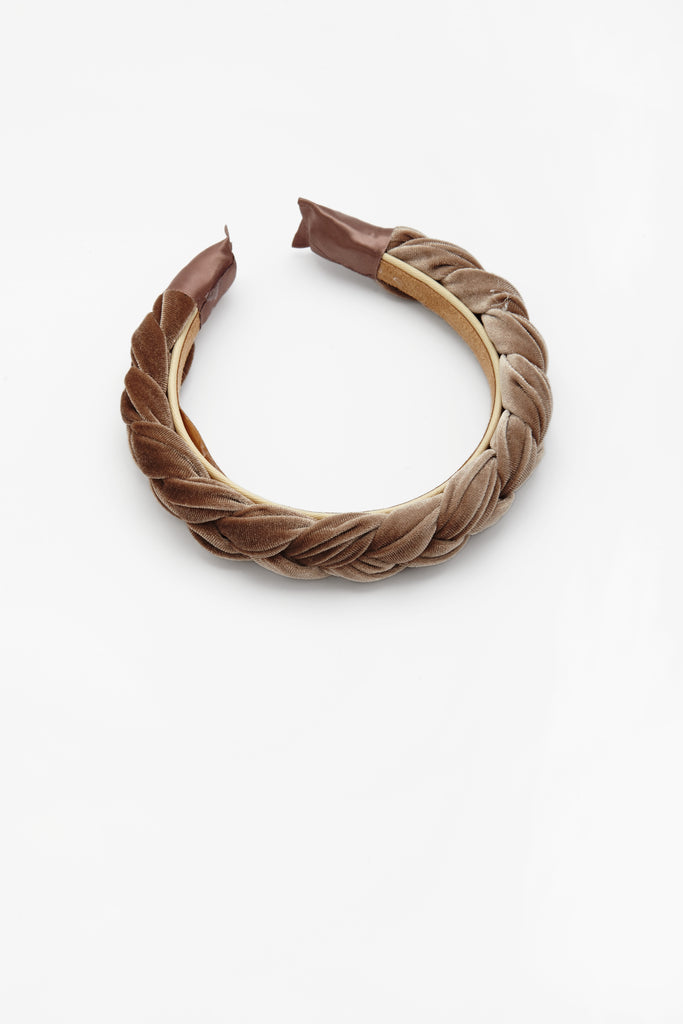 Aurora Headband Brown