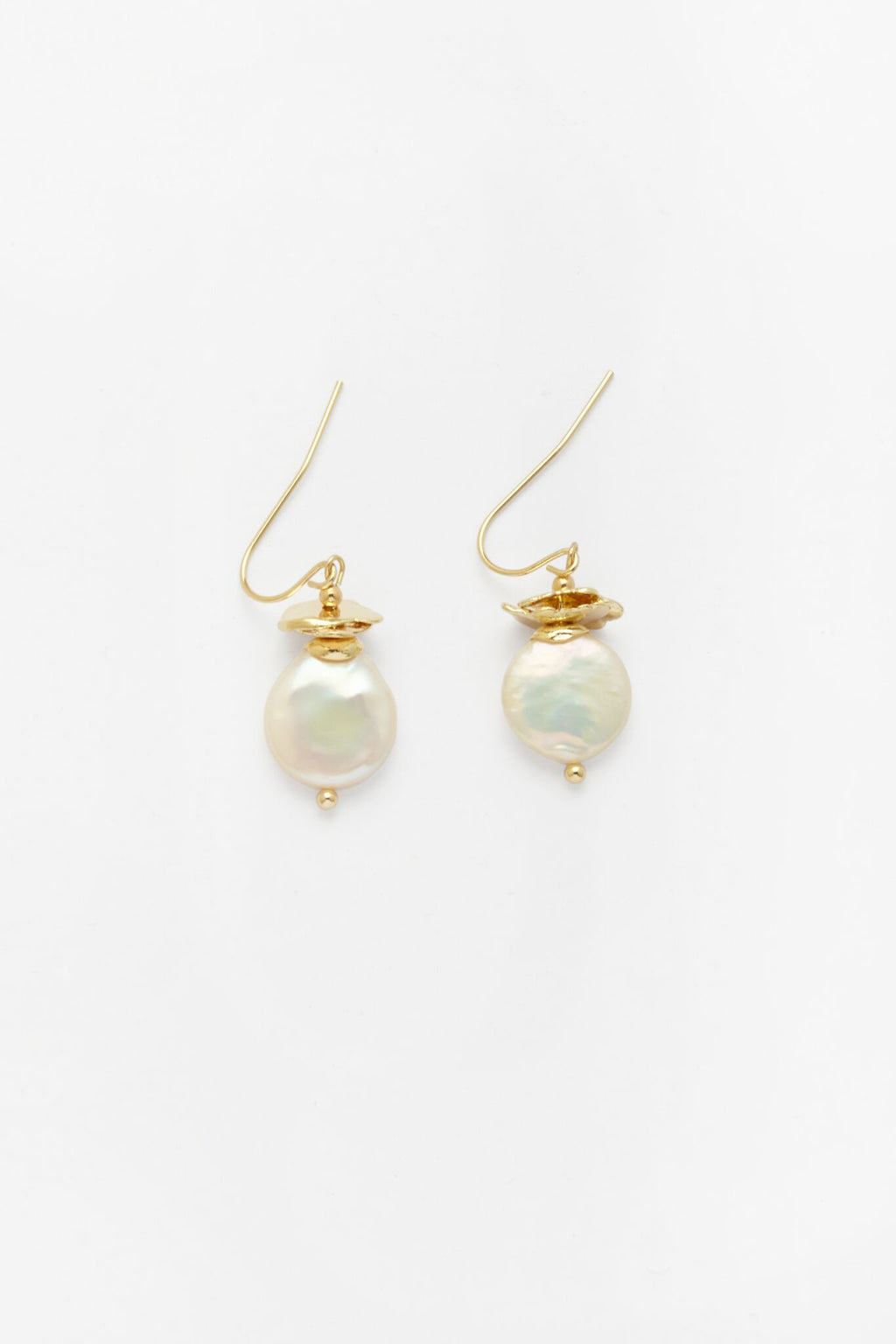 Contrarian Pearl Earrings