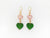 Emma Earrings in Green