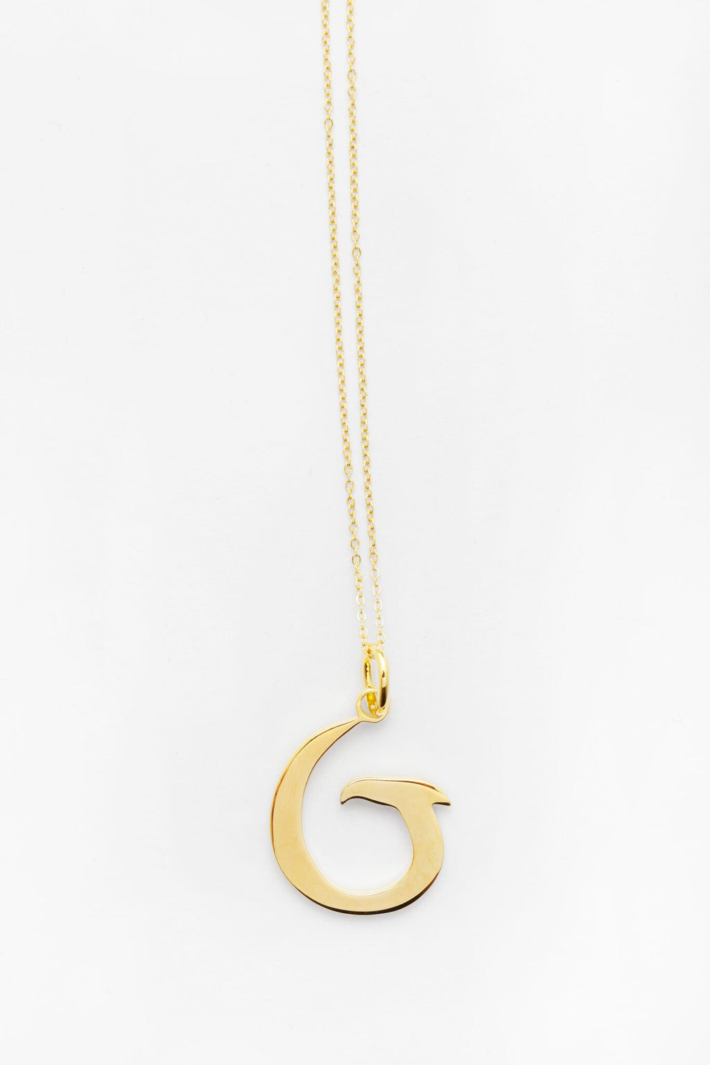 Gold Letter G Necklace