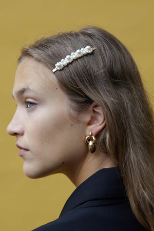 Pantomime Earrings in Gold