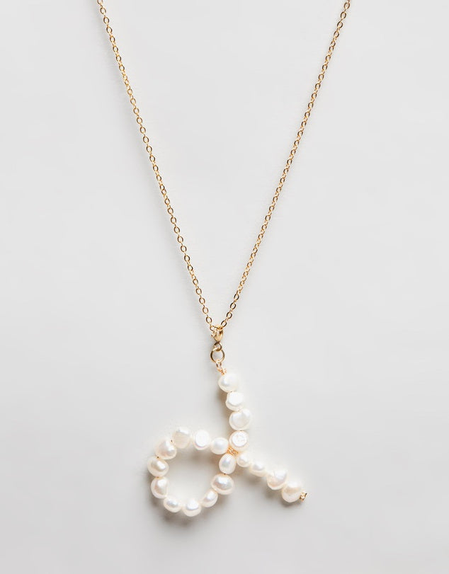 Pearl Zodiac Necklace Taurus