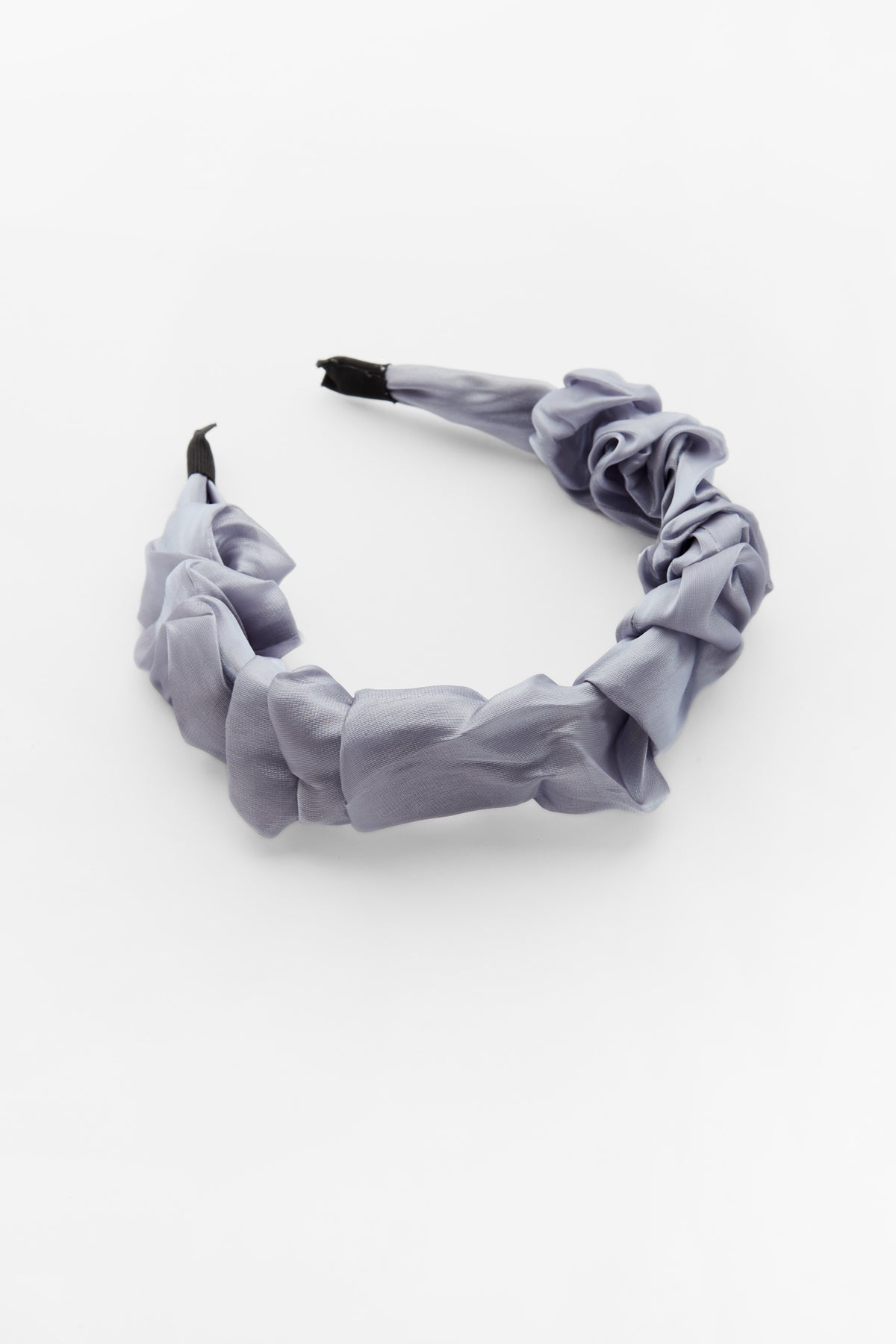 Organza Ruffled Headband Teal
