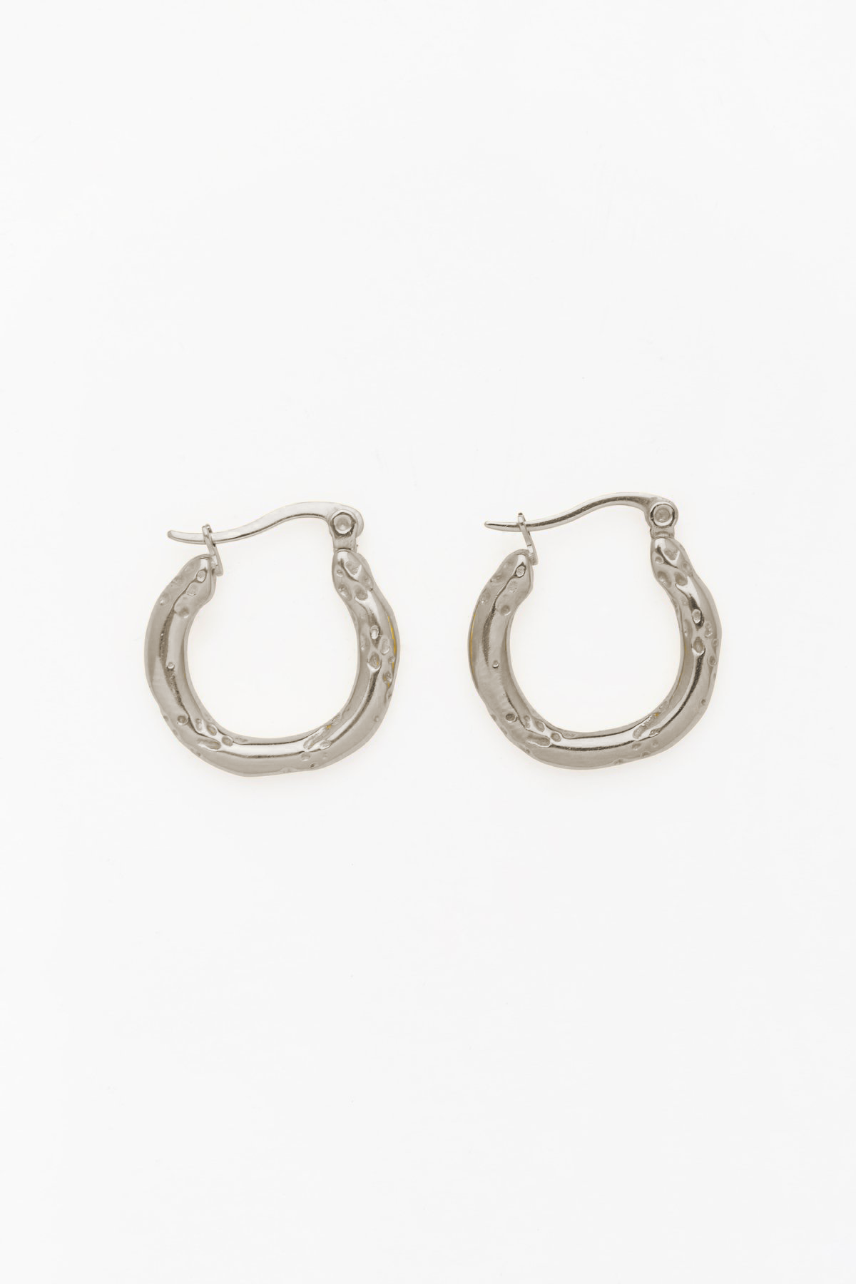 Top That! Hoops in Silver