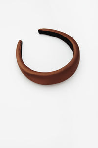 Zoe Headband Brown