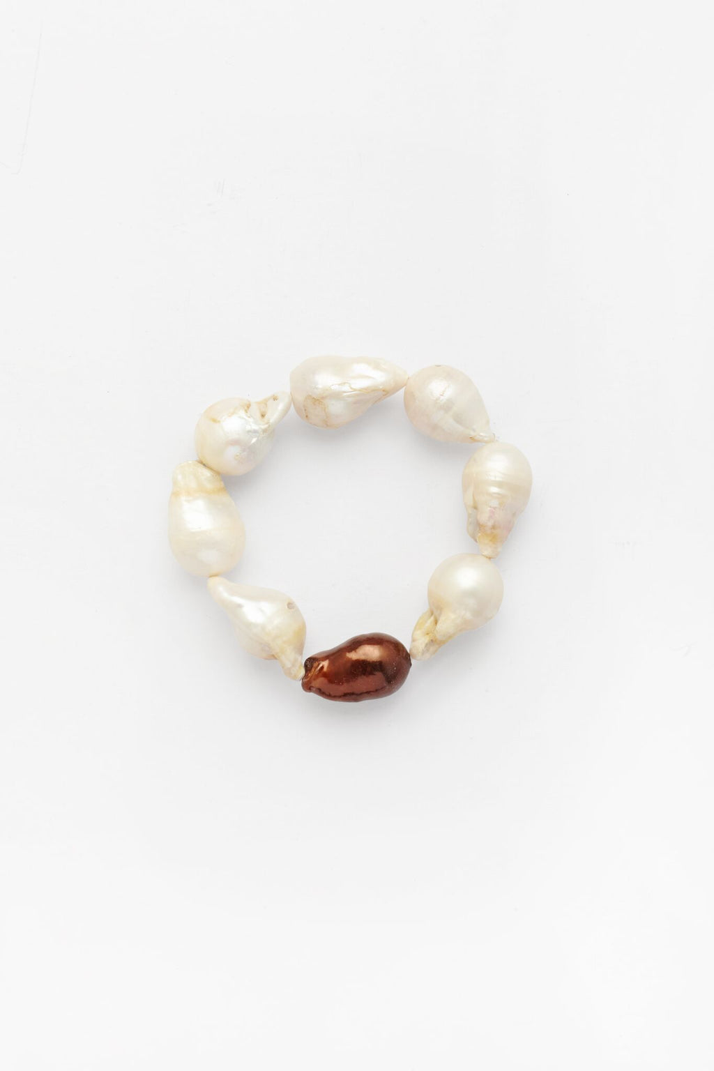 Keshi Strand Pearl Bangle