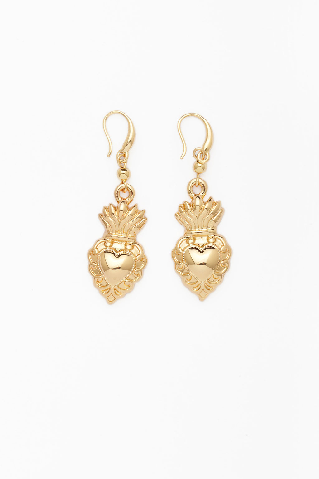 Heart on Fire Earring
