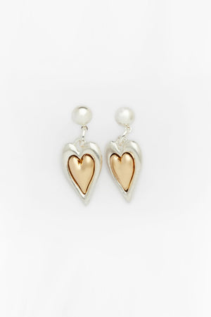 Warm Heart Earrings