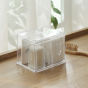 Clear Multifunctional Cotton Box (IN)